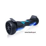 Original IO Hawk Cross Speed in schwarz mit Slicks beim Hoverboard Experten FunShop Wien kaufen