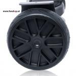 Original IO Hawk Cross Speed in schwarz mit Slicks von der Seite beim Hoverboard Experten FunShop Wien kaufen