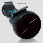 Original IO Hawk Cross Speed in schwarz mit Slicks von der Seite und oben beim Hoverboard Experten FunShop Wien kaufen