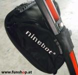 Original Ninebot Elite Lenkertasche schwarz montiert auf Ninebot E beim Experten für Elektromobilität im FunShop Wien kaufen