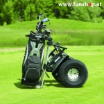 Original Segway x2 SE Golf Turf Personal Transporter stehend beim Experten für Elektromobilität im FunShop Wien testen probefahren und kaufen