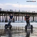 Original Segway x2 SE Personal Transporter am Strand beim Experten für Elektromobilität im FunShop Wien testen probefahren und kaufen