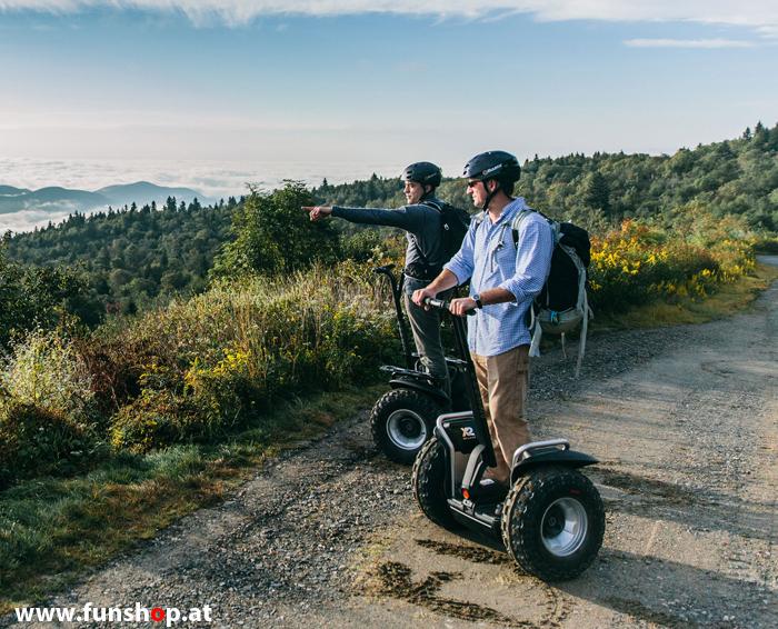 Original Segway x2 SE Personal Transporter für Männer beim Experten für Elektromobilität im FunShop Wien testen probefahren und kaufen
