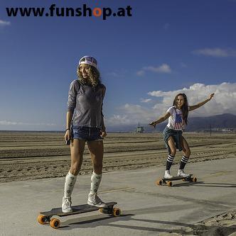 Original Yuneec E-GO elektrisches Longboard Skateboard Girls im FunShop Wien kaufen testen und probefahren
