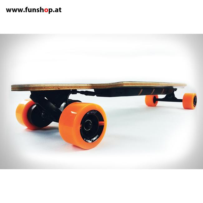 Original Yuneec E-GO elektrisches Longboard Skateboard Seite im FunShop Wien kaufen testen und probefahren