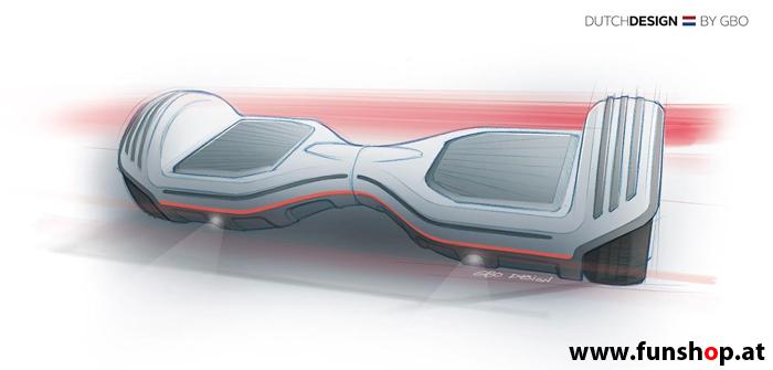 Oxboard Hoverboard Design im FunShop Wien testen und kaufen