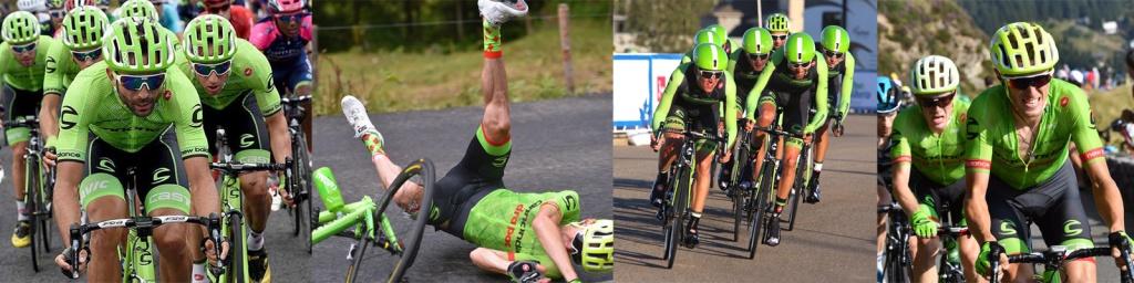 POC Helmet Cannondale Drapac Team Pierre Rolland Ben King Alex Howes Phil Gaimon