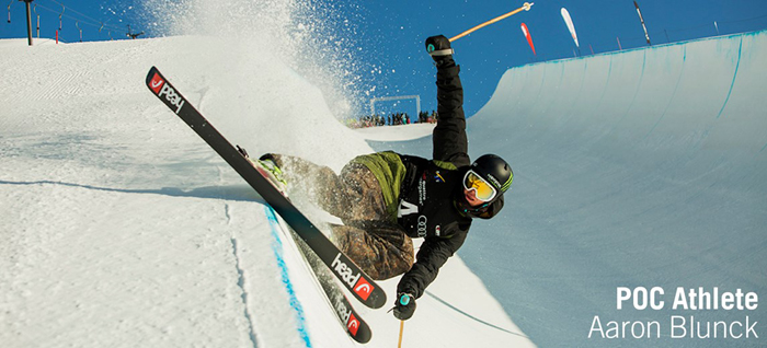 POC athlete and Freestyler Aaron Blunck
