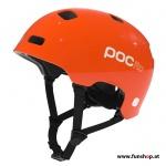 POCito Crane Outdoorhelm für Kinder in orange beim Experten für Elektromobilität im FunShop Wien testen und kaufen