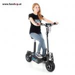 SXT 1600XL schwarz mit Fahrerin beim Experten für Elektromobilität im FunShop Wien testen und kaufen