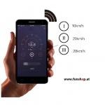 SXT Carbon V2 Elektro Scooter schwarz App Android und IOS beim Experten für Elektromobilität im FunShop Wien kaufen testen und probefahren