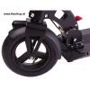 SXT Elektroscooter Buddy schwarz mit Luftreifen Rad vorne beim Experten für Elektromobilität im FunShop Wien testen probefahren und kaufen