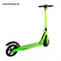 SXT light Elektro Scooter grün Seite im FunShop Wien Onlineshop kaufen testen und probefahren