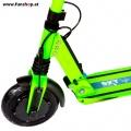 SXT light Elektro Scooter grün Vorderrad im FunShop Wien Onlineshop kaufen testen und probefahren