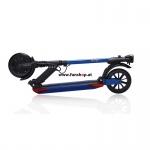 SXT light Plus Elektro Scooter matt blau zusammengelegt beim Experten für Elektromobilität im FunShop Wien Onlineshop kaufen testen und probefahren
