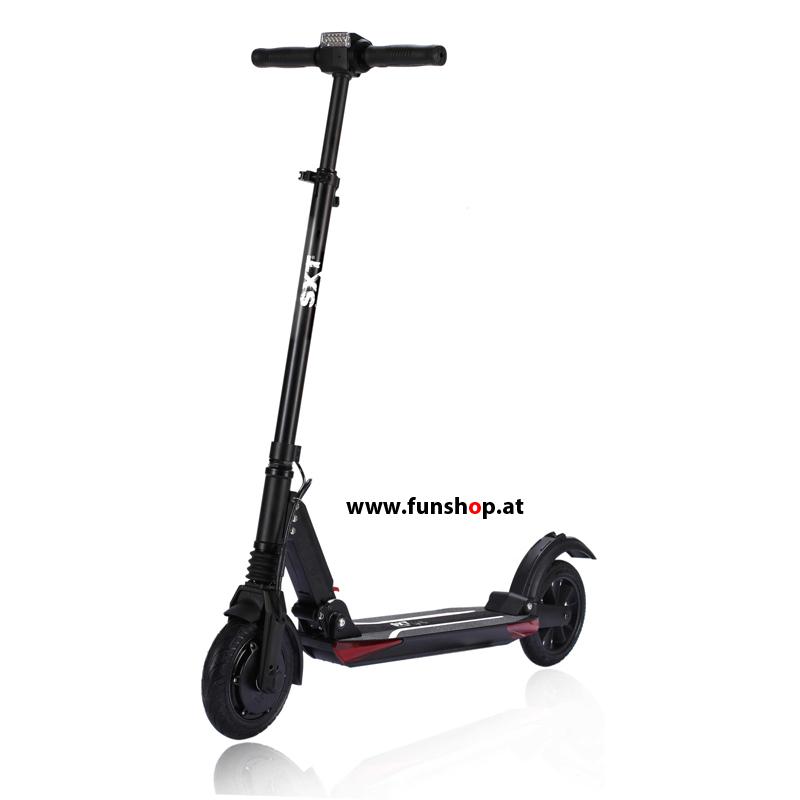 SXT light Plus Elektro Scooter matt schwarz beim Experten für Elektromobilität im FunShop Wien Onlineshop kaufen testen und probefahren