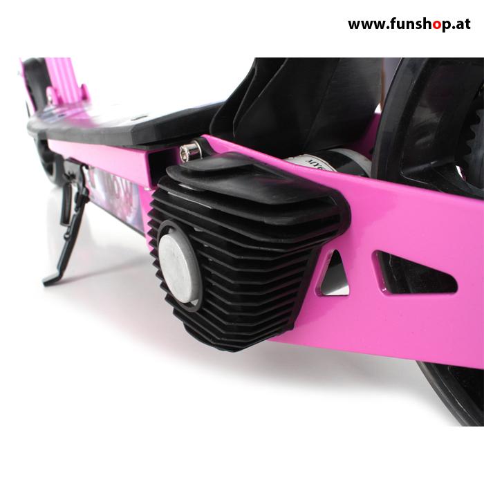 SXT100 elektrischer Kinderscooter in pink Motor im FunShop Wien kaufen testen und probefahren