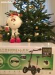 Scuddy Light aus der Höhle der Löwen beim Experten für Elektromobilität im FunShop Wien wünscht frohe Weihnachten