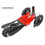 Scuddy Premium Sport rot aus der VOX Sendung Höhle der Löwen beim Experten für Elektromobilität im FunShop Wien testen probefahren und kaufen