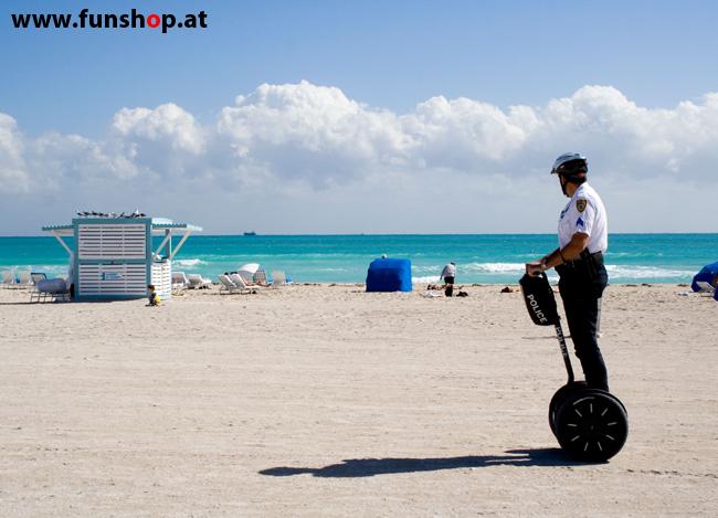 Segway i2 und x2 am Strand im FunShop Wien testfahren und kaufen