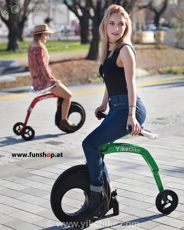 YikeBike kleines elektrisches Klapprad beim Experten für Elektromobilität im FunShop Wien kaufen
