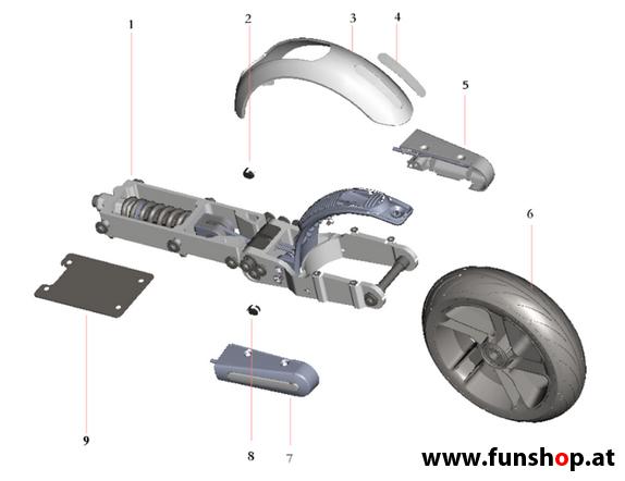 ninebot zubeh r und ersatzteile funshop kingsong. Black Bedroom Furniture Sets. Home Design Ideas