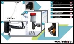 Zubehör und Ersatzteile Ninebot Mini Pro beim Experten für Elektromobilität im FunShop Wien kaufen