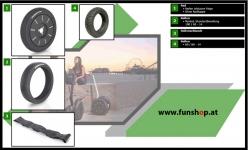 Zubehör und Ersatzteile accessories and spare parts Segway i2 x2 Räder beim Experten für Elektromobilität im FunShop Wien kaufen