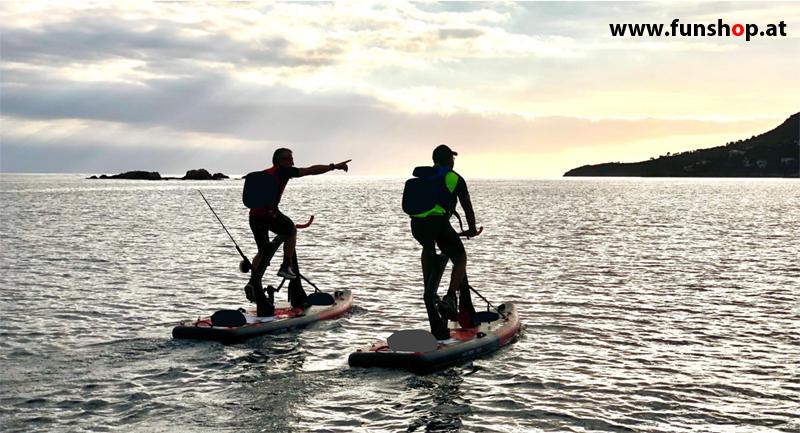 red-shark-bike-surf-adventure-water-bike-fisherman-hunter-funshop-vienna-austria