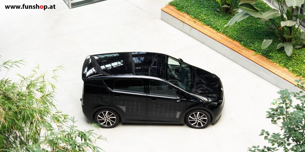 Der Sion von Sono Motors Elektroauto mit Solarzellen